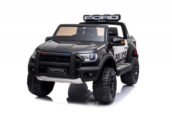 Kinder Elektro Auto Ford Ranger Raptor Polizei Police 2x45W USB Mp3 FB