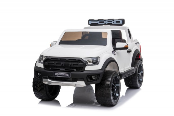 Kinder Elektro Auto Ford Ranger Raptor 2x45W 12V Batterie USB MP3 FB
