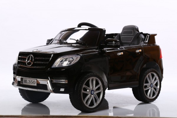 MERCEDES BENZ ML350 JEEP SUV KINDER ELEKTRO AUTO 12V 2x35 WATT RC MP3